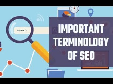Important Terminology of SEO | SEO terms and definition | SEO terms