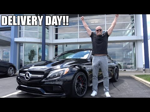 FINALLY!! Taking Delivery Of My Mercedes AMG C63s !!!