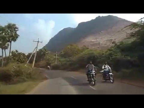 Vijayawada to Ambapuram Road with Beautiful Location Krishna District AP India