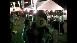 十津川村 ゆるキャラ 「郷士くん」 2012.8.4 郷士くん撮影会