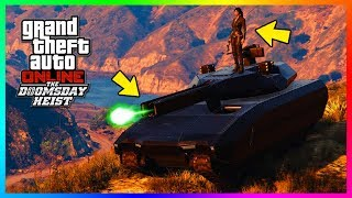 30+ SECRET Features, Hidden Details & Crazy Things You Missed In GTA Online The Doomsday Heist DLC!