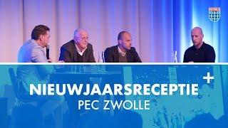 Nieuwjaarsreceptie PEC Zwolle 2019