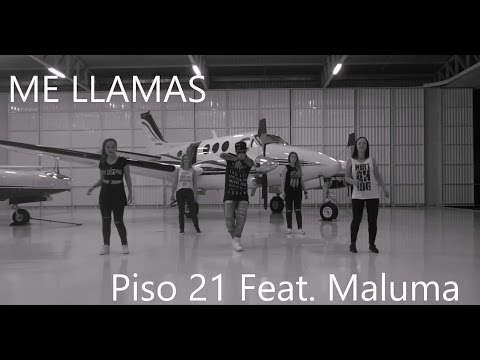 Piso 21 - Me llamas Feat Maluna [remix]   Coreografia l Cia Art Dance