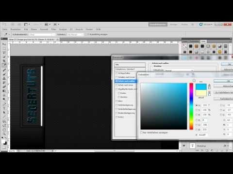 Neonstreifen Erstellen (Schein Nach Aussen Und Innen) In Photoshop