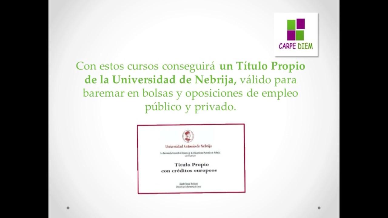 Cursos Universidad