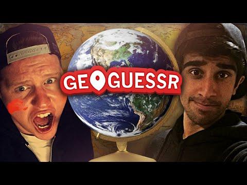 GEOGUESSR #6 With Vikkstar & Ethan (GeoGuessr Challenge)