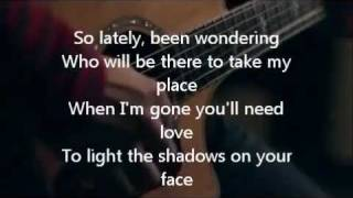 The Calling - Wherever You Will Go (Boyce Avenue acoustic cover) - lyrics!