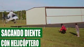 Padre Saca Diente de Su Hijo con Helicóptero || VÍDEO VIRAL 2016