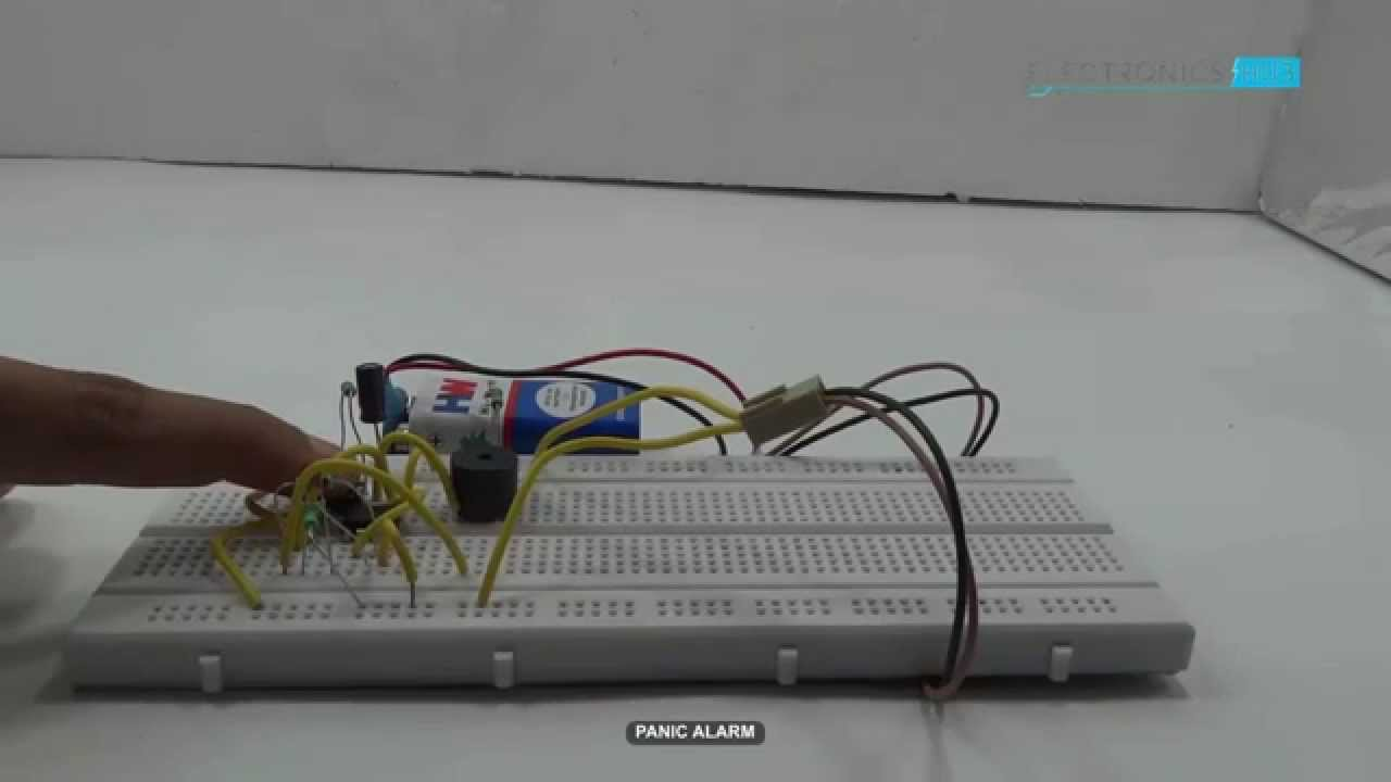 Panic alarm using 555 timer youtube panic alarm using 555 timer asfbconference2016 Choice Image