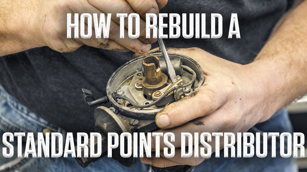 diy how to rebuild a standard points distributor [ 1280 x 720 Pixel ]