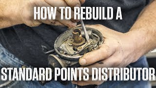 How to rebuild a standard points distributor | Hagerty DIY