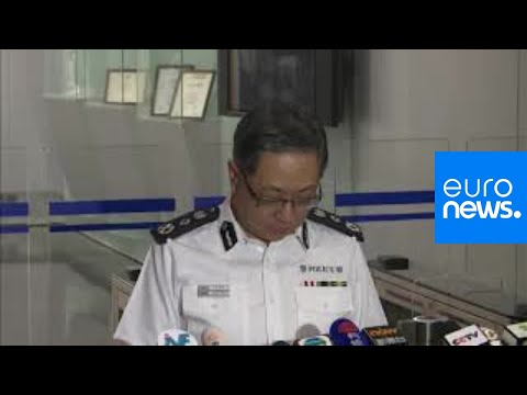 Hong Kong Police Commissioner holds a news conference following violent day of protests | Live