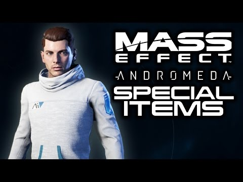 MASS EFFECT ANDROMEDA: All Special Edition Bonus Items! (Weapons, Armor, Pet Pyjak, and More!)