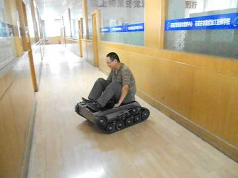 Nova Fighter Tracked Robot Chassis Youtube