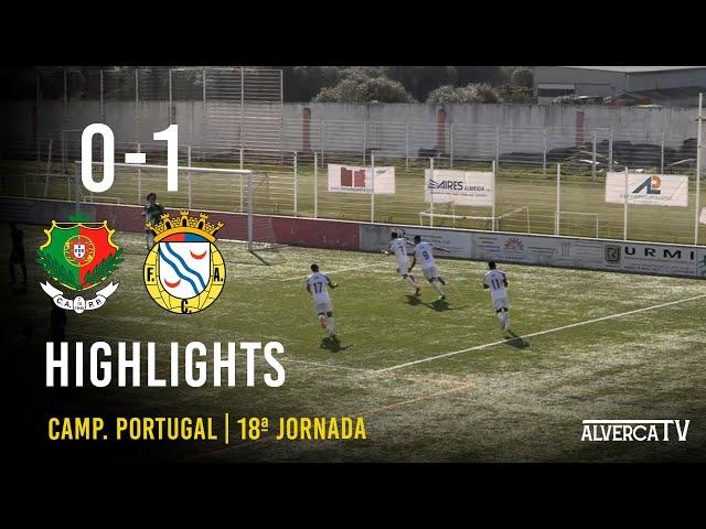 Pêro Pinheiro 0-1 FC Alverca Highlights