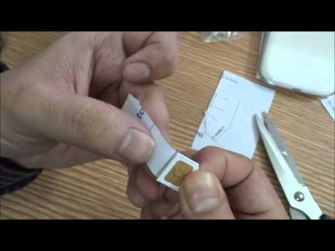 Convert Normal Sim To Micro Sim - Youtube