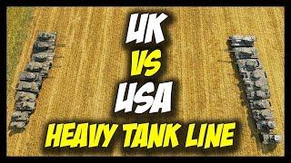 ► World of Tanks: USA vs British (UK) Heavy Tanks - Tier 1 to Tier 10 - Face Off #17