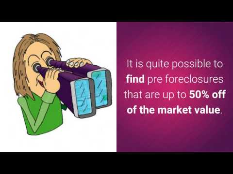 How to Find Pre Foreclosure Properties