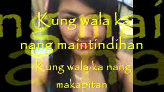 Download wag ka nang umiyak-kz tandingan (bebejhackie cover) MP3 song and Music Video