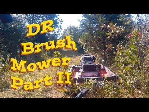 DR Brush Mower Part 2