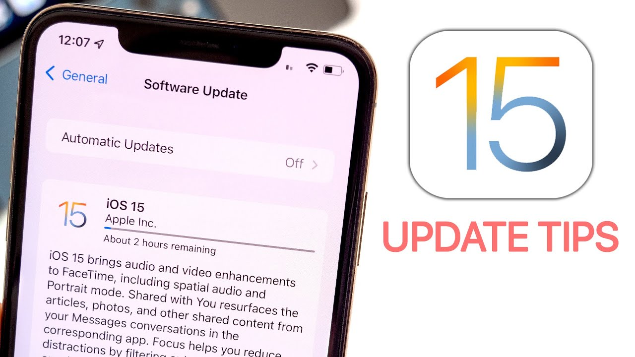 How to Update to iOS 15  Tips Before Installing