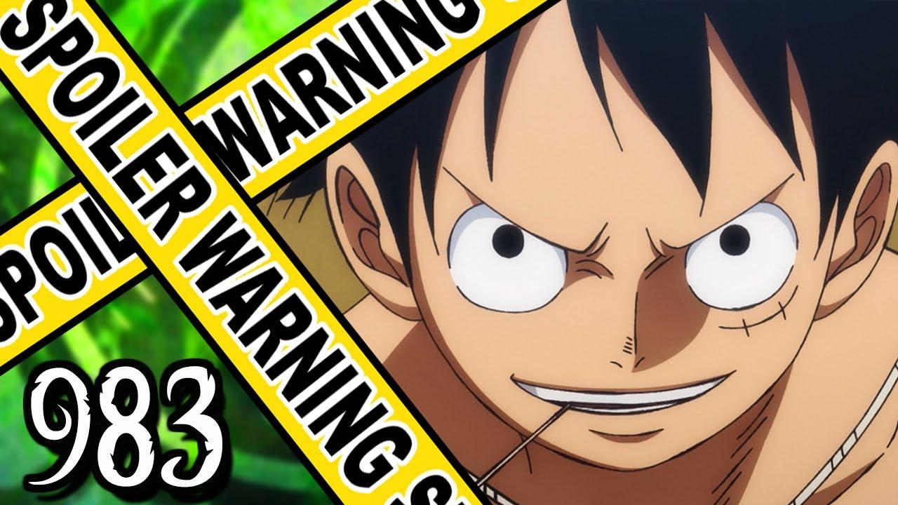 THUNDER!!! | One Piece Chapter 983 Review - BlogTubeZ