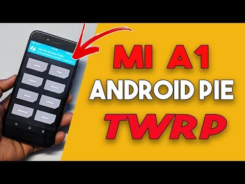 mi-a1-android-pie-9.0-twrp-recovery-install- -root
