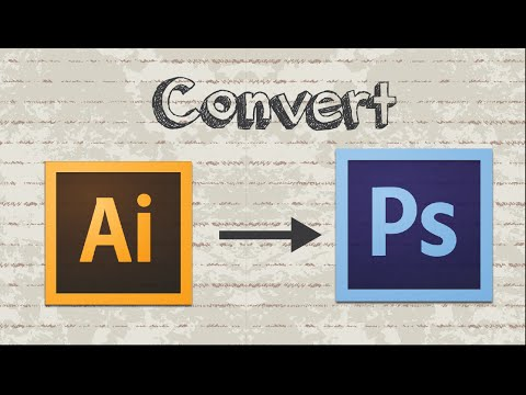 How To Convert AI To PSD Format