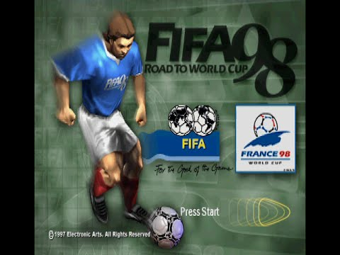 FIFA - Road To World Cup 98 (PS1) - Longplay