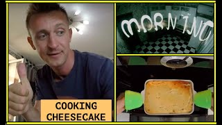 morning cooking : cheesecake