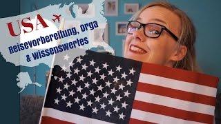 USA | Tipps für Eure Reisevorbereitung | Organisation | Planung