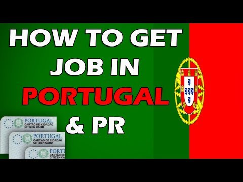 How To Get Job In Portugal Process Of Work Permit Visa & Residency Card