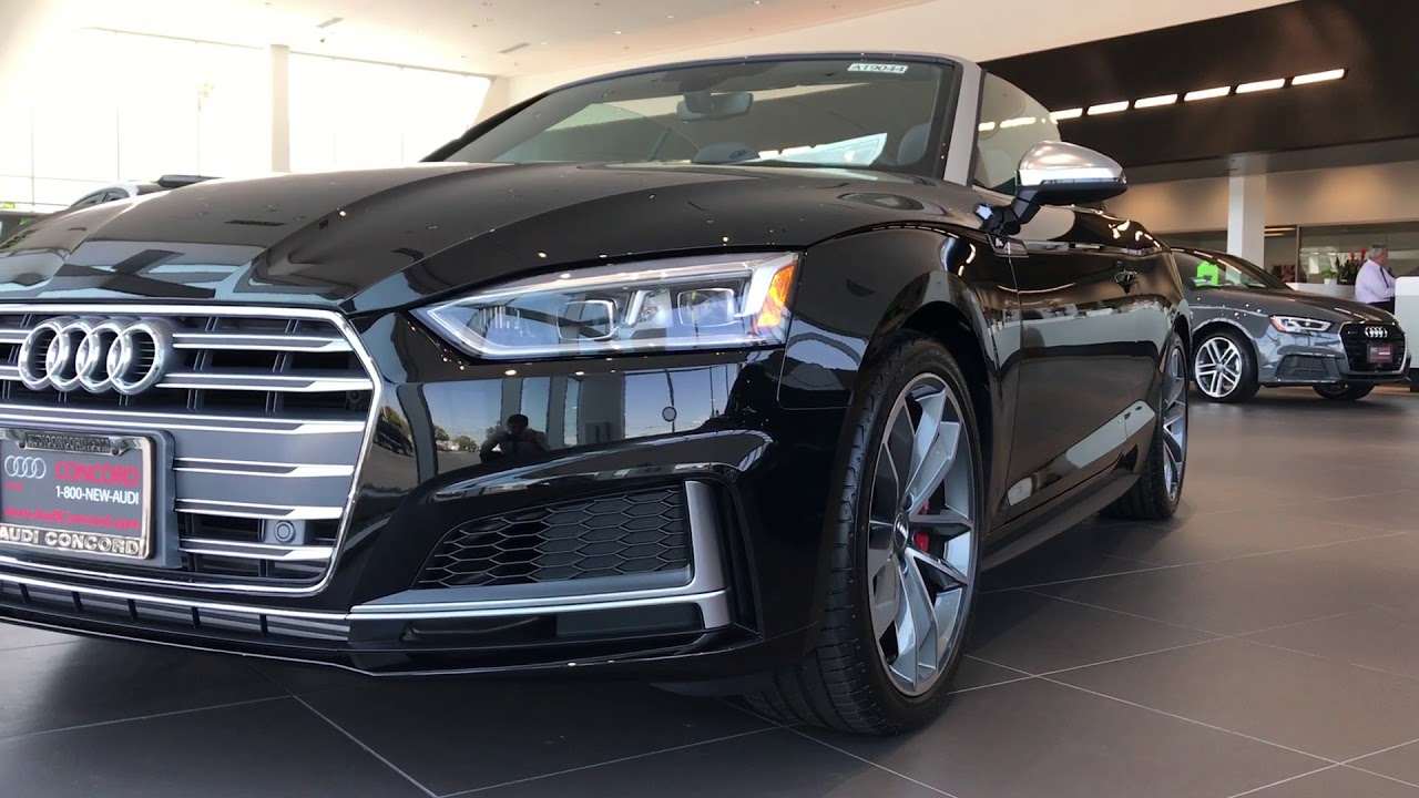 2018 S5 Audi Sport Mythos Black 354hp Youtube