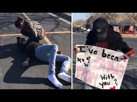 Teen Fakes His Own Death in Epic Promposal