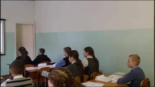 Открытый урок русского языка 01.01.2017