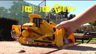 Construction Trucks for Children- excavators, dump trucks, and bulldozer action
