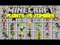 Minecraft PLANTS VS ZOMBIES: GARDEN WARFARE MOD! | SURVIVE ARMY OF ZOMBIES! | Modded Mini-Game