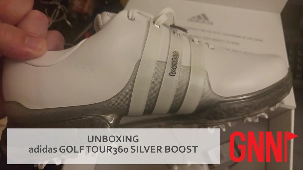 Unboxing: adidas Golf TOUR360 Silver Boost edicion especial YouTube
