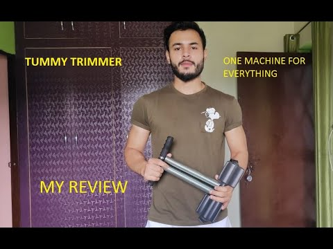 The Tummy Trimmer (One Machine To Train Your Biceps, Forearms,shoulders, Upperback And Abs At Home)