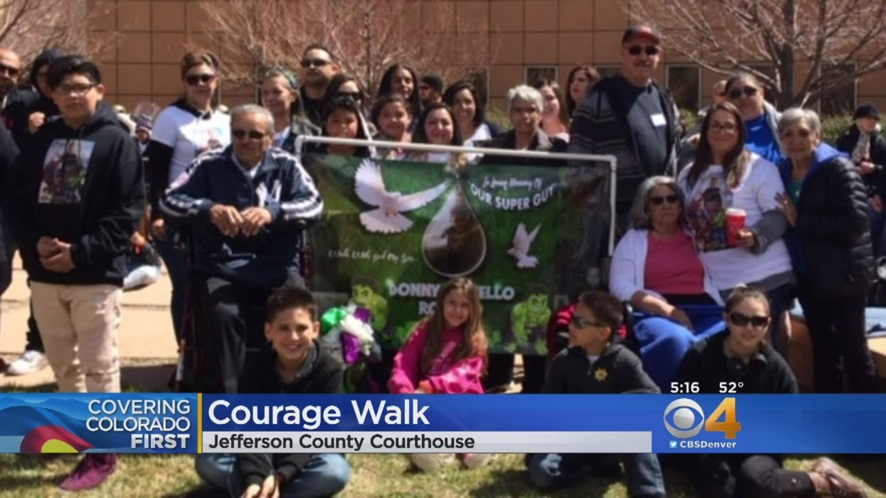 Hundreds Gather For Courage Walk During Crime Victim's Rights Week