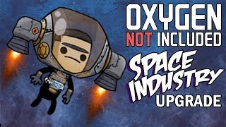 Duplicant Jetpacks! - Oxygen Not Included Gameplay - Space Industry Upgrade