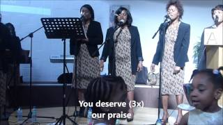 You deserve [Deborah Lukalu] -  Chorale de l'Eglise Protestante Baptiste de LLN