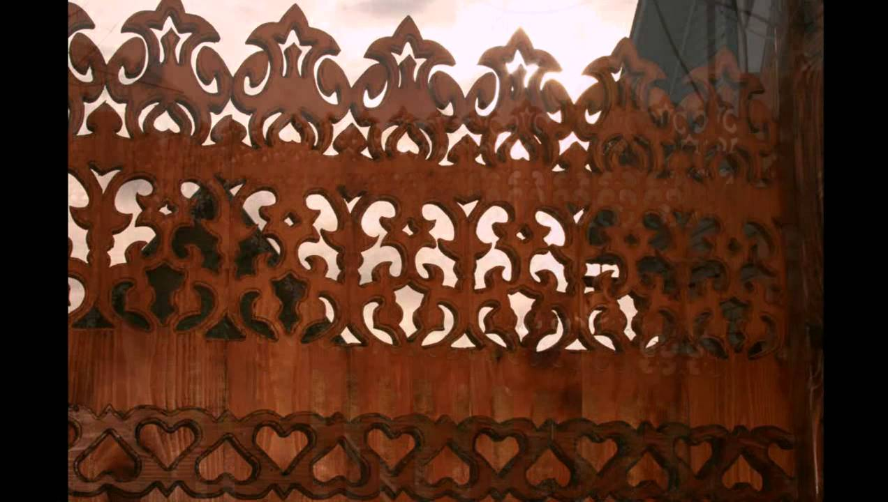 Резной забор из дерева своими руками: шаблоны, установка 6