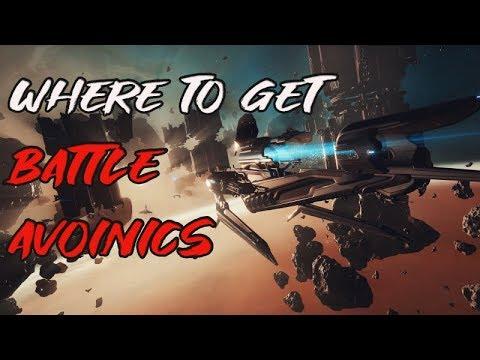 ALL Railjack Battle Avoinics Drop Location   Void Hole Munition Vortex ETC