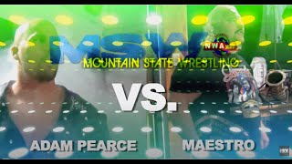 Maestro VS. Adam Pearce | Stro VS Pearce 1