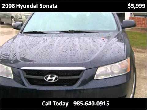 2008 hyundai sonata used cars slidell new orleans la youtube. Black Bedroom Furniture Sets. Home Design Ideas