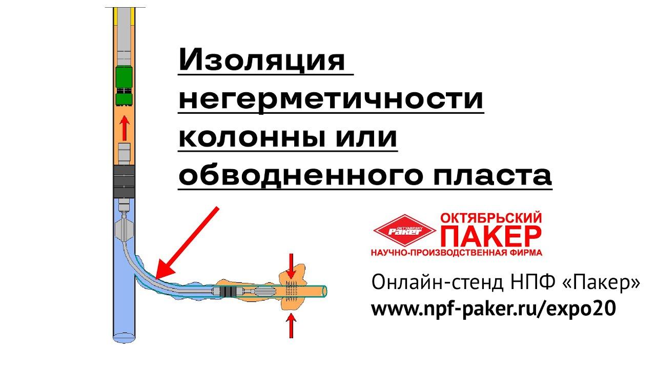 Видео презентация - Технология изоляции негерметичности колонны или обводненного пласта — 2ПРОК-СИАГ
