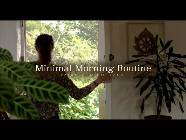 Minimal Morning Routine