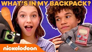 What's in Jayden & Armani's BACKPACKS?! 🎒 | Dora and the Lost City of Gold | Nick