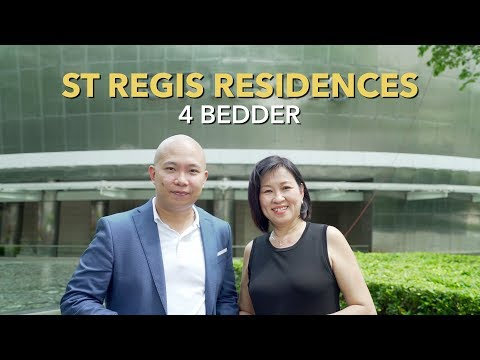 Singapore Condo Property Listing Video - Orchard St Regis Residences 4 Bedder For Sale